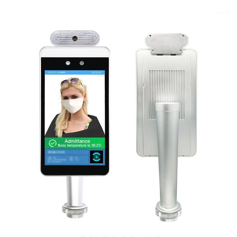 درجة حرارة الجسم الاعتراف بالوجه الكاميرا قطع الغيار المعادن حالة الوجه التعرف على ميزان الحرارة كاميرا التحكم