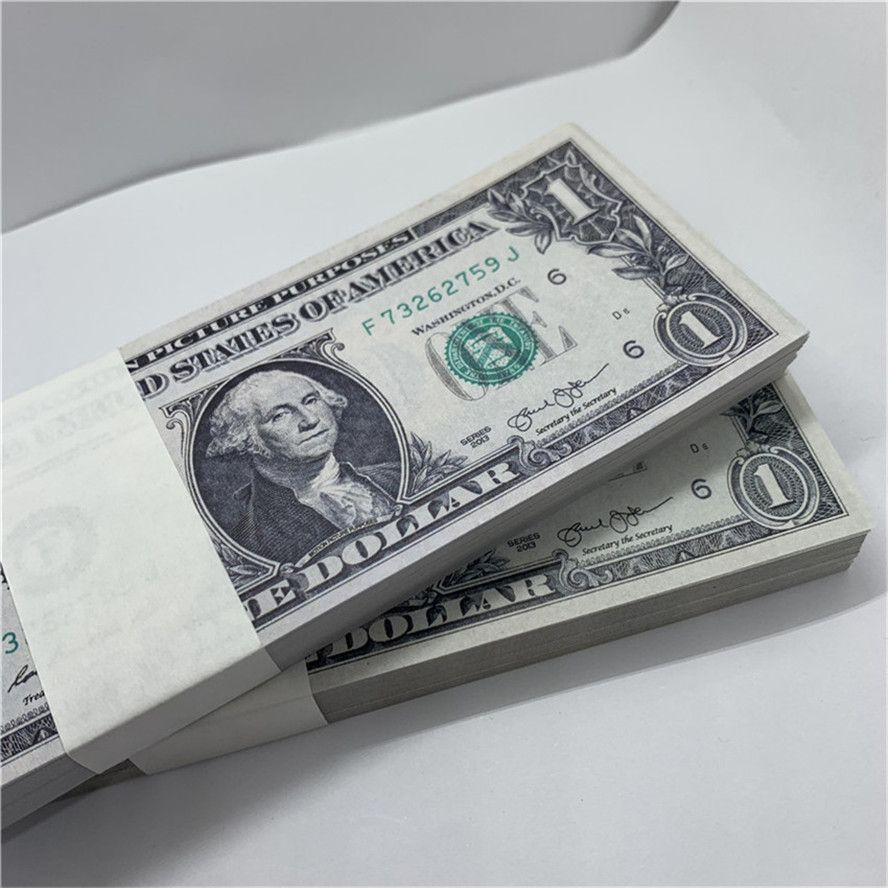 U.S.currency Copy U3 Performance Forged Rhusp Fake Banknotes Money Shooting Bar Props Toy Dollar Bank Children 1 Qdcai