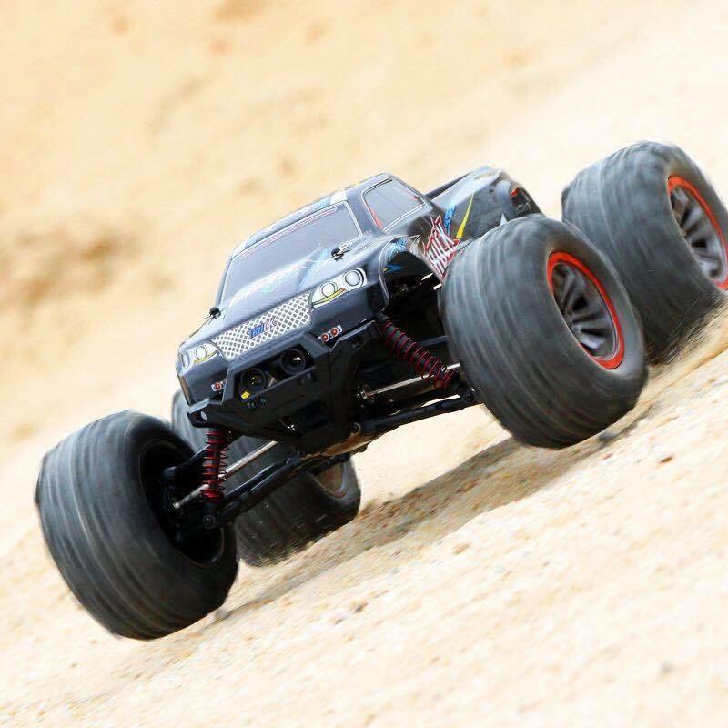 Contrôle haute vitesse de 50 km / h 4WD 2.4GHz RC CAR 9125 2.4G 1:10 4WD Double Moteur Radio contrôlée voiture de course de course hors route 201218
