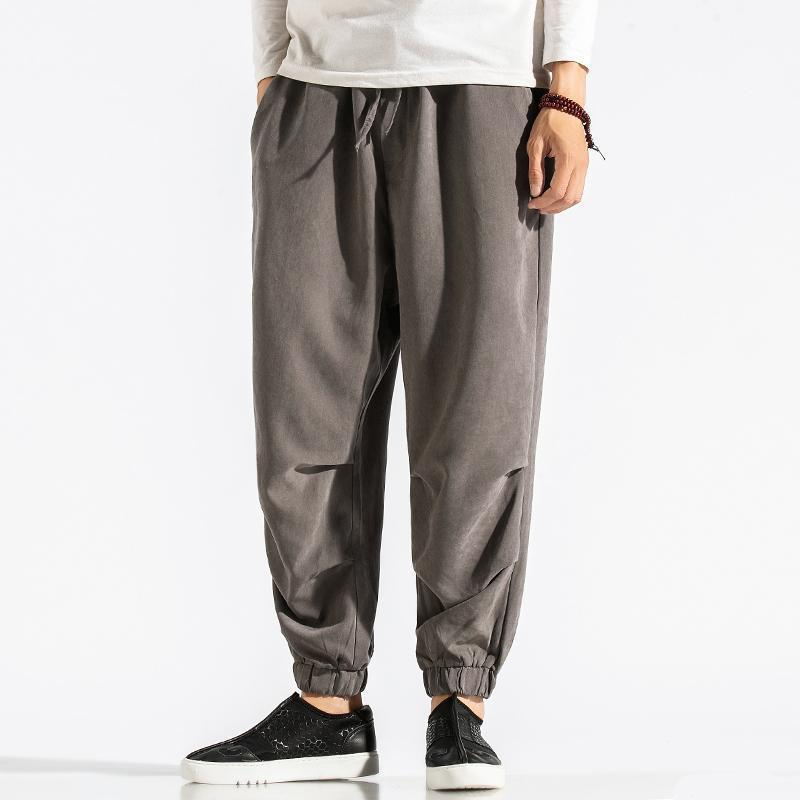 2021 Men's Jogging Sweatpants Harajuku Man Harem Pants Fashion Casual Jogging Pants Male Oversized Loose Trousers Streetwear 5XL1