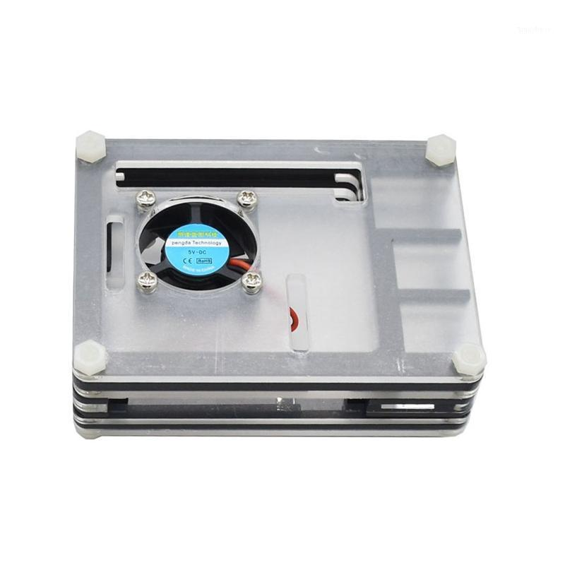 Pour le boîtier acrylique PI de framboise avec des dissipateurs de ventilateur de refroidissement pour la framboise PI 41