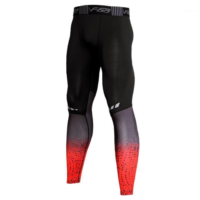 Pantalones de ejercicios de ejercicio de fitness para hombre Pantalones de entrenamiento altos Elástico Elástico Secado rápido Pantalones transpirables Venta directa de fábrica1