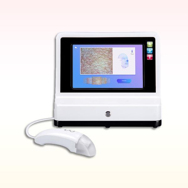 أحدث 4D المحمولة الاعتراف الذكي تشخيص الوجه الرقمية محلل الجلد جهاز الوجه محلل الجلد آلة الماسح الضوئي الجلد