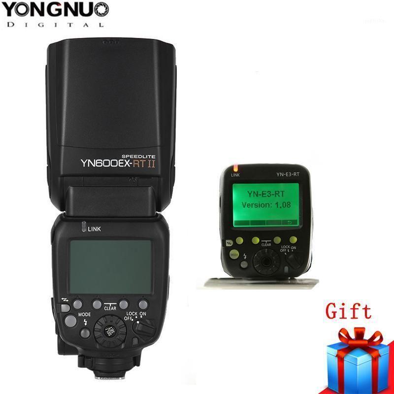 Yongnuo oficial YN600EX-RT II Flash Speedlite Wirelessl 1 / 8000s W Yn-E3-RT Transmissor para 1300D 6D 750D 1200D DSLR1