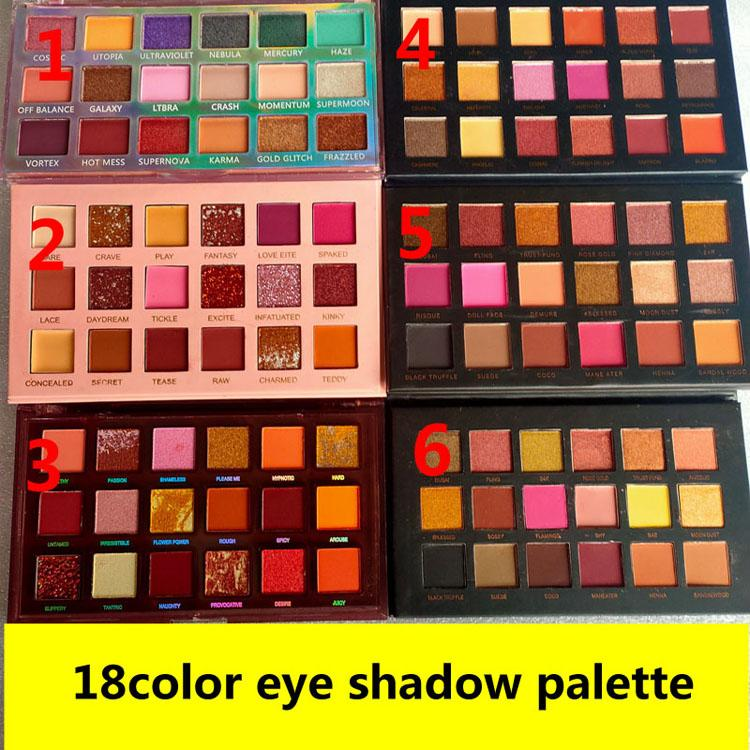 Hot 18color eye shadow palette rose gold desert dusk palette 18 colors eye shadow palette Matte high quality free shipping