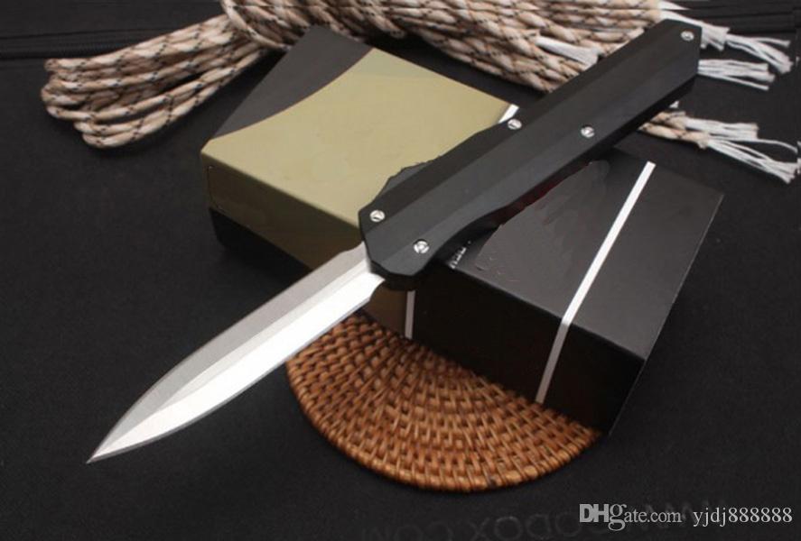 Micro BM Knife Automatic D2 Doppia azione EDC Pocket Defense Difesa Camping Tactical Knife Bench da esterno Survival Auto Knife BM3300 3310 A163 UT85