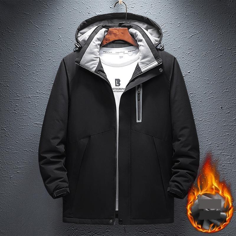 UDW5 North Mens Designer Inverno Casaco Casual Cor Sólida Jaqueta Athletic Com capuz Windbreaker Quente Asiático Tamanho Frete Grátis