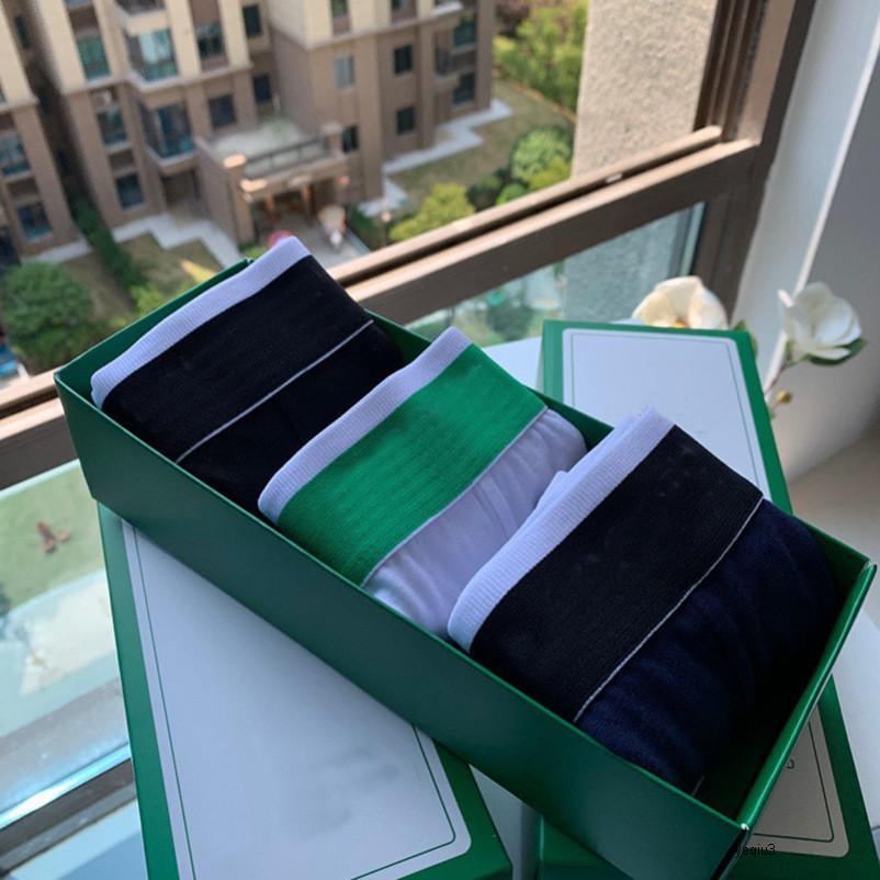 Mens Designer Boxer Boxer Crocodile Merverizie Francia Brand Spot consegna uomo cotone moda 6 colori colore casuale Asian Dimensioni multiple scelte