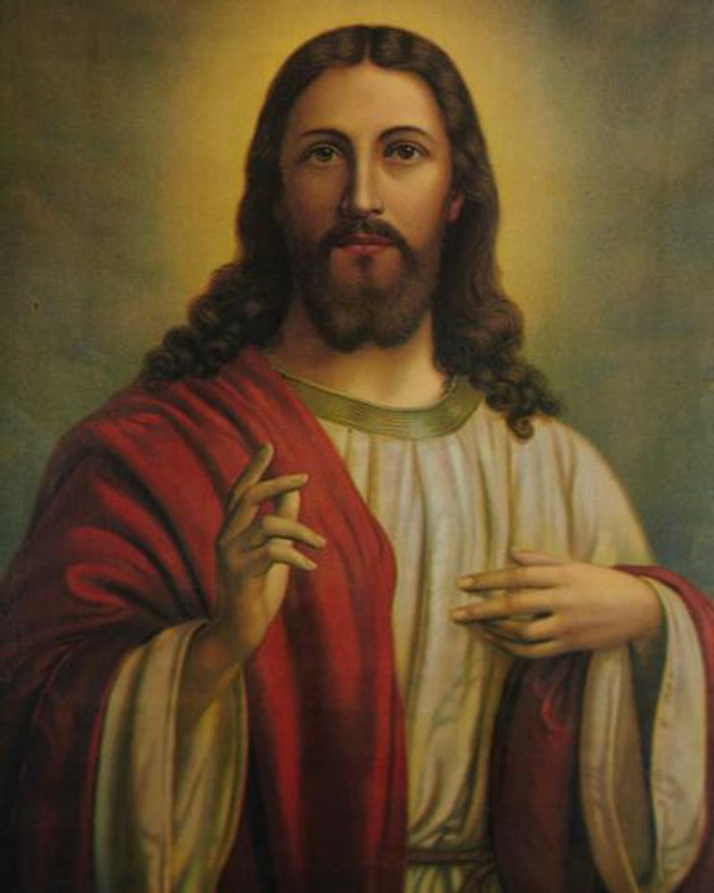 Catholic picture JESUS Home Decoration Handcrafts /HD Print Oil Painting On Canvas Wall Art Canvas Pictures 201126