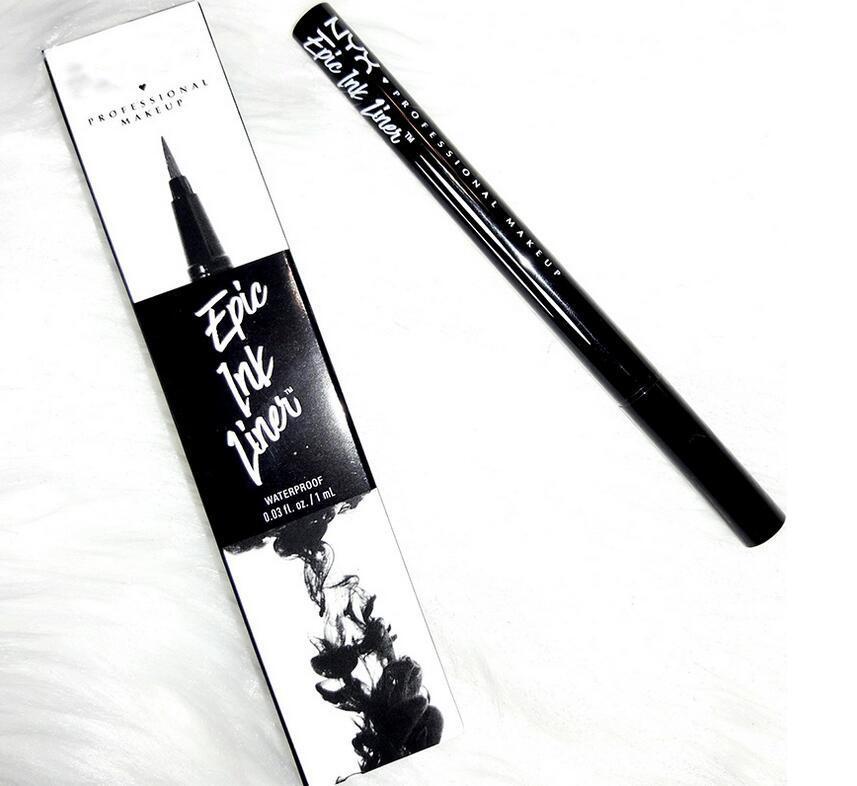 NYX EPIC INK LINER NYX EYLINER Crayon Noir NYX EPIC ENCORE DE DOUBLE À TÊTE EYLINER CRAYON DE EYLINER NOIR COULEUR DE COULEUR DE VIDE LIQUIRE EN STOCKE DES YEUX DHL