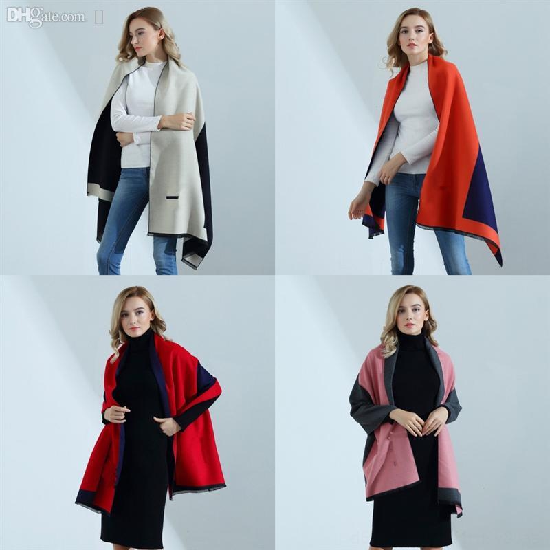 6T6IO l'ultima moda scarpashion autunno sciarpa di seta essere inverno scialle lettera classica designer designer lussuoso scialle casual casual può