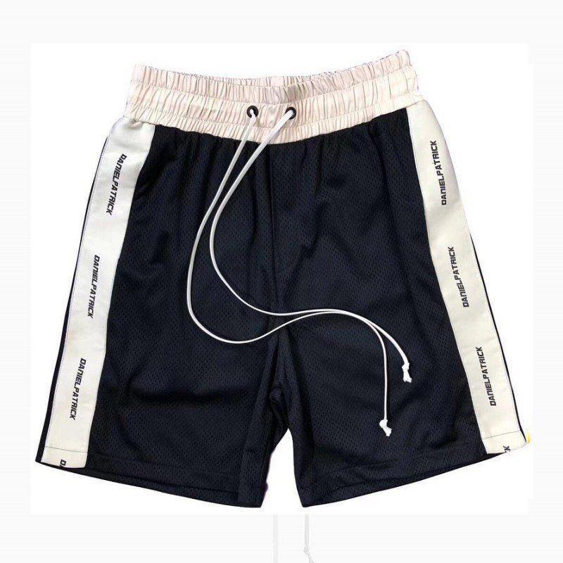 HOMBRES DANIEL PATRICK DP19 Nuevas letras de cuerda Shorts de malla de red