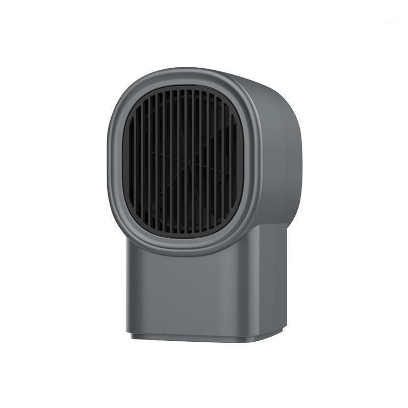 Cinza portátil aquecimento elétrico ventilador de uma parede outlet de parede aquecedor aquecedor mini aquecedor aparelhos de escritório silencioso com plug1