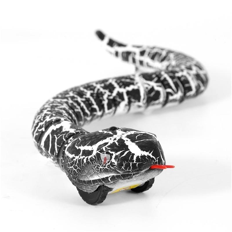 OSDE RC Snake и яичко Emote Control Rattlesnake Trick Trick Tricking Savchiev Toys для детей забавная новинка подарок новый Hot Y200413