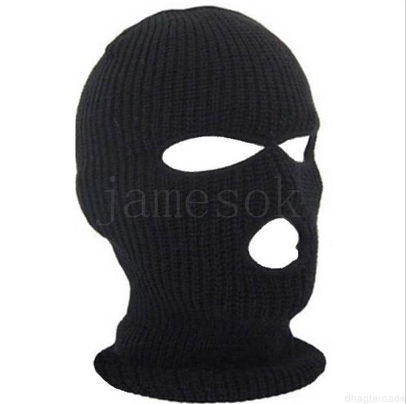 Ve kayak bisikleti 2 delikli sıcak 3 delik tam kış yüz maskesi erkekler ve kadınlar için kışın wx9 tutmak için