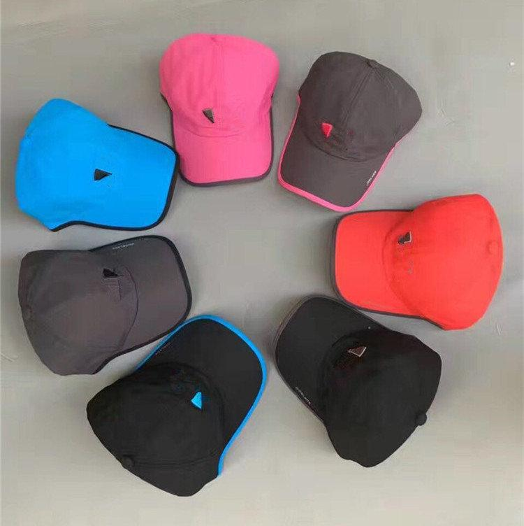 Unisex Baseballkappe Schnelles Trockenrückgang Einstellbar Casquette Klassische Design Visor Caps Hut Outdoor Sports Hüte Sommer Sunhat Topes Hat Ins
