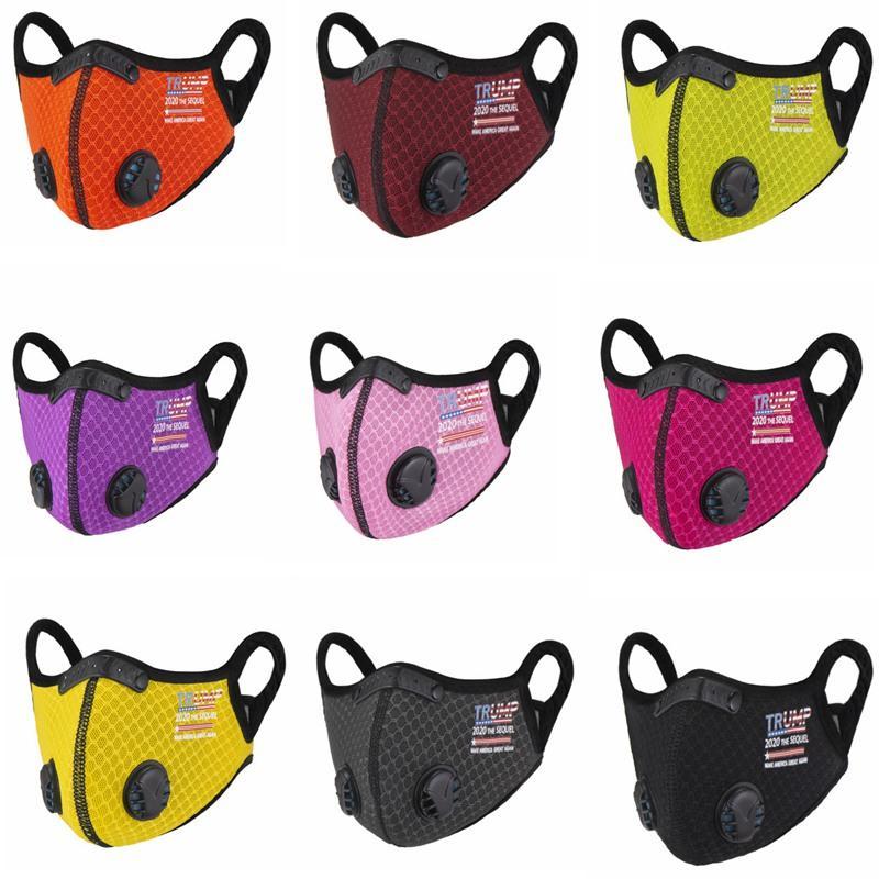 Trump Cycling Mask Winter TRUMP Supporters Warm Mask Adult Cycling Mask Windproof Dustproof Child Masks IIA929