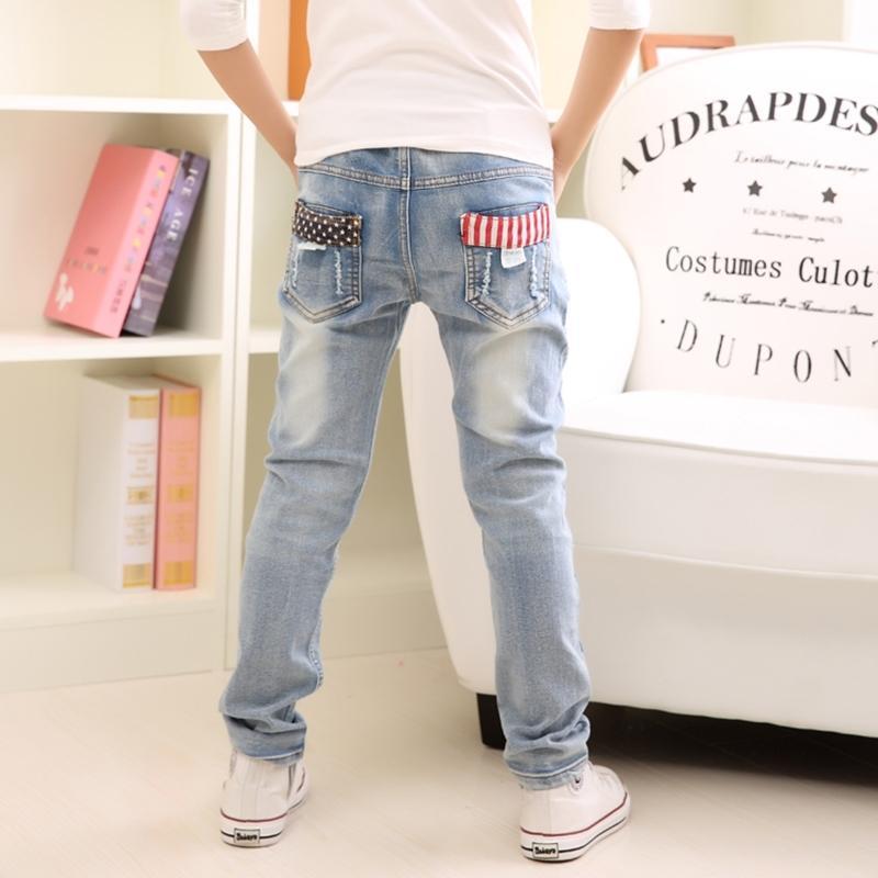 Джинсы мальчика, детская одежда мальчиков джинсы весенние и осень брызги детские брюки 3 4 5 6 7 8 9 10 11 12 13 14 лет Y200409