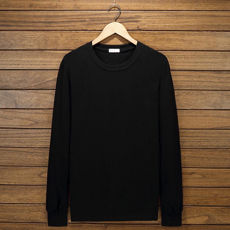 Camisetas para hombre Tallas grandes Big 8xl 10xl 12xl hombres camiseta de manga larga otoño suelto tees algodón casero tapa tops 54 52 56 62 64 66 68 150kg 160k