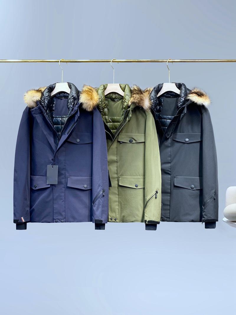 Famous kastel Mens Jacket Parka Men Casual Down Jacket Windproof Coats Mens Outdoor Warm Feather Winter Jacket Doudoune Ski Coat Outwear