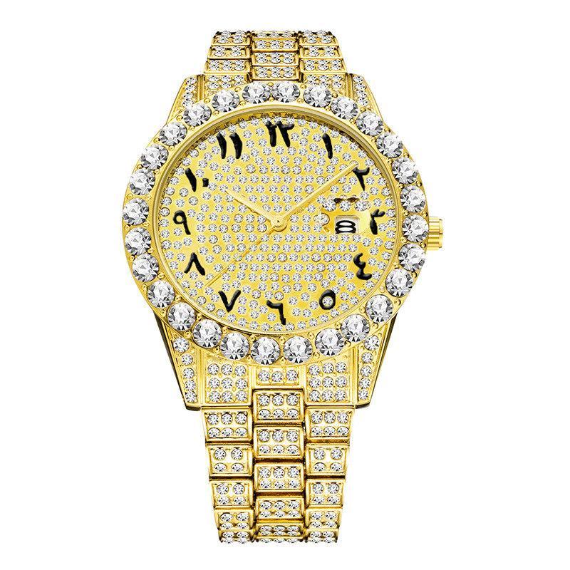 2021 Nouvelle montre de luxe de luxe pour hommes promotionnels Acier inoxydable étanche Mouvement Japonais Mouvement Quartz Watch