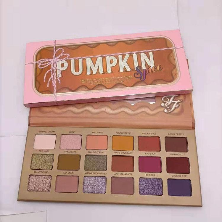 Christmas PUMPKIN 18color eyeshadow palette Shimmer Matte Christmas 18color eyeshadow palette free shipping
