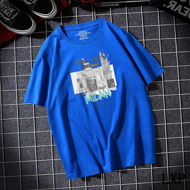 Nouveau t-shirt d'été T-shirt en coton Blanc Solide T-shirt Hommes Cause Colo O-Cou Basic Tshirt Homme Haute Qualité Classical Tops A-23