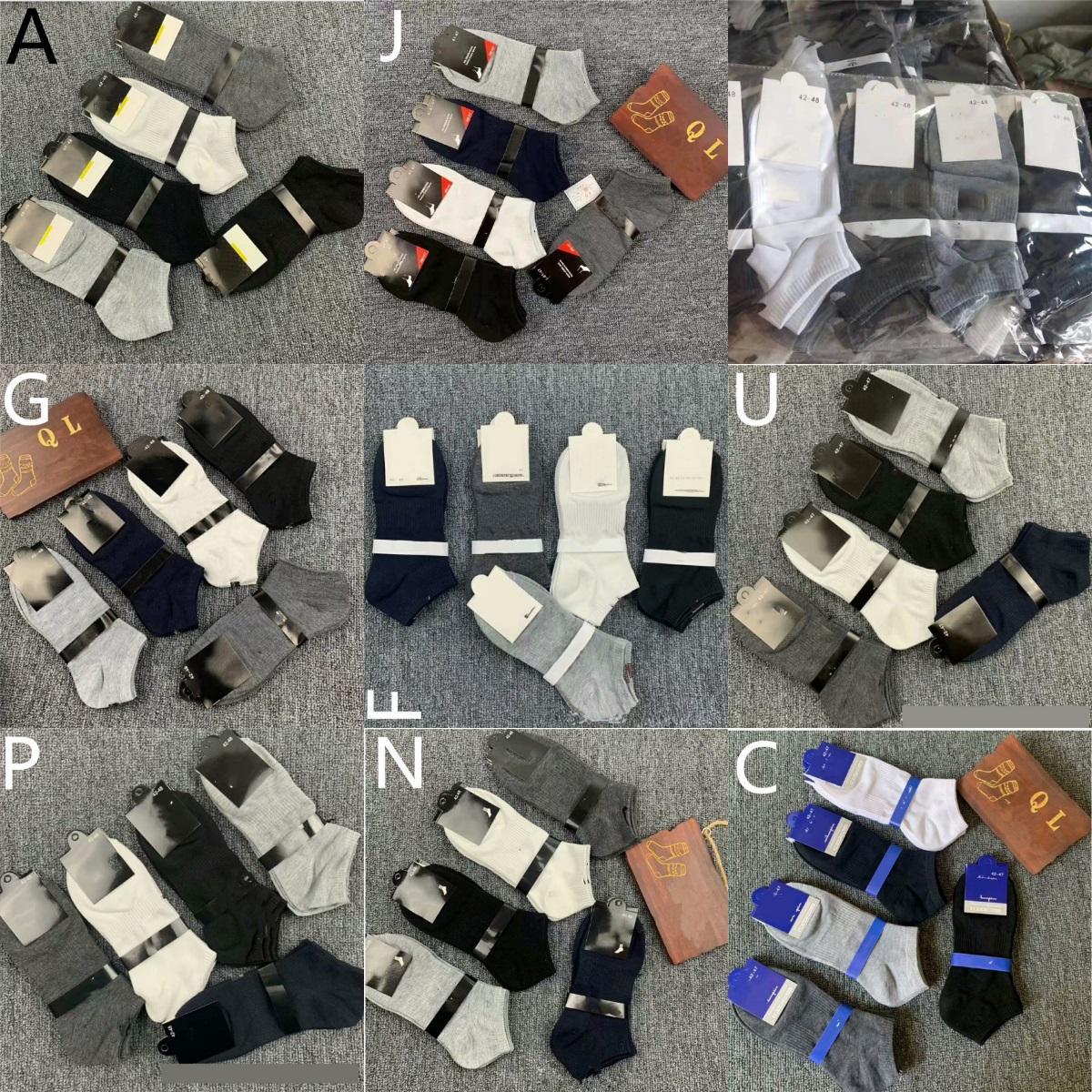 New Comfort Cushioned Breathable Socks Anti-Blister Low SportsSocks Cotton Socks Ankle Athletic Running Basketball Sport Socks