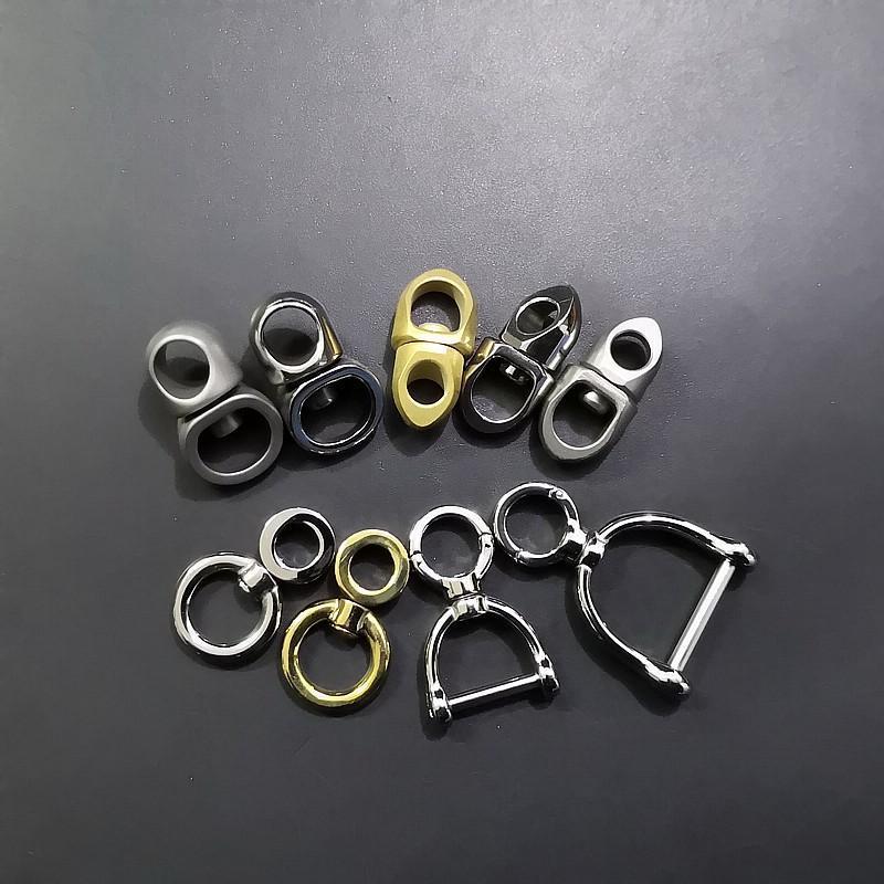Favoris Favoris 304 Touche en acier inoxydable Boucle suspendue Sourceuse universelle Figure 8 Rotation Connecteur Creative Car Keychain Connexion Bague