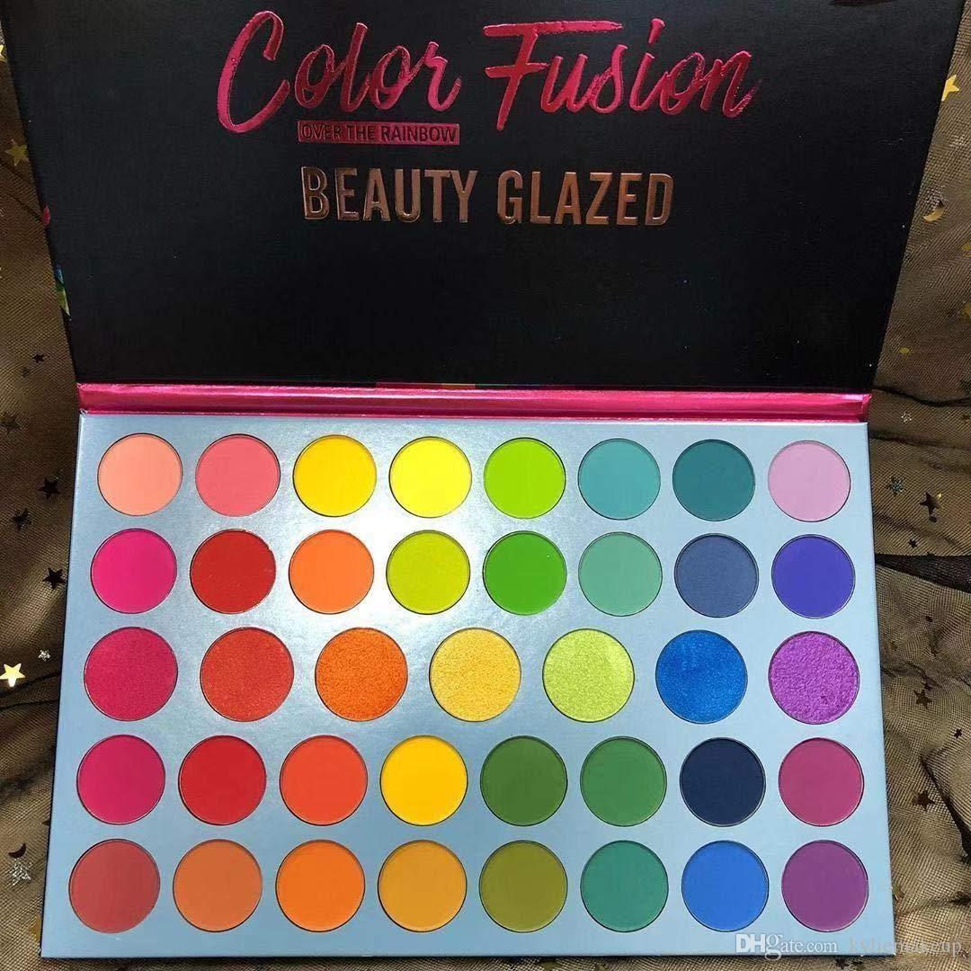 2355New Beauty Cleared Professional 39 цветной макияж матовый Metallic Flash Teeshadow Palette - ультра цвет яркий и яркий цвет теней для век