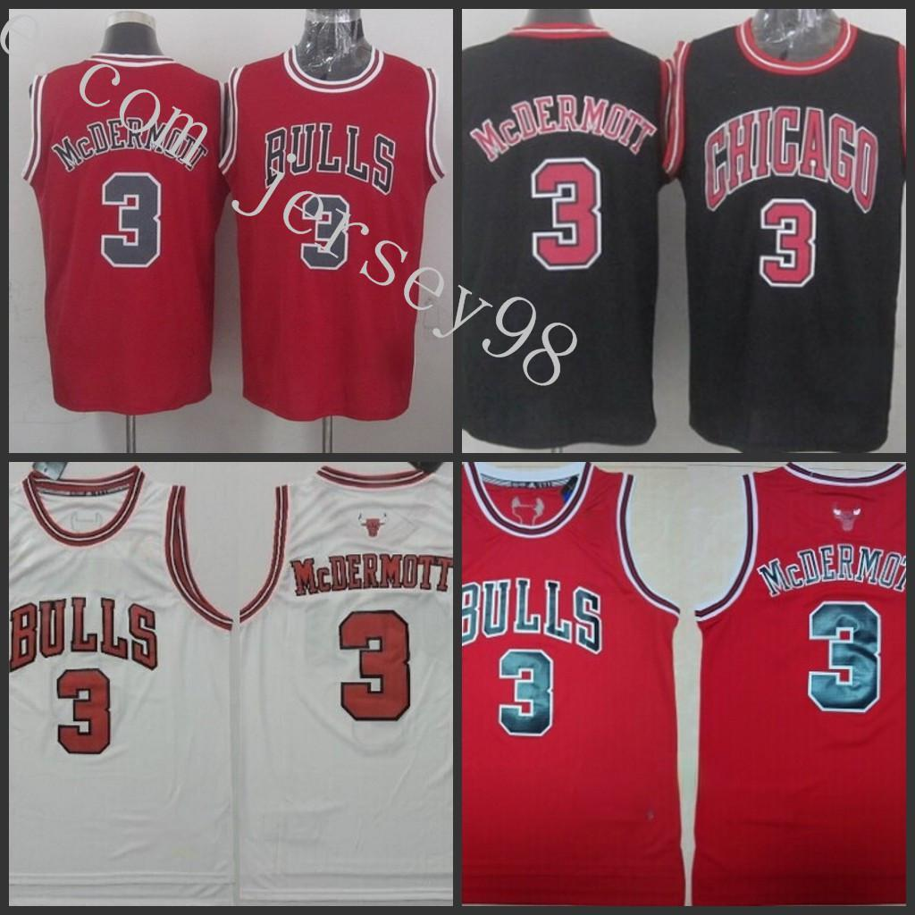 Ncaa chicago.BullenSchwarz # 3.Doug McDermott Green.NBA Swingman Great to Service Jersey