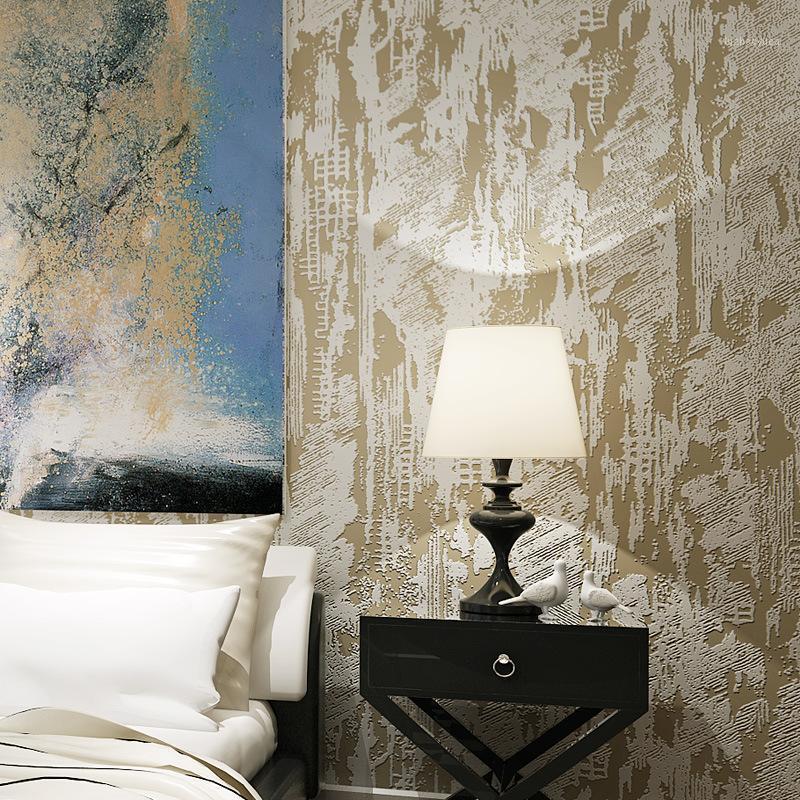 Non tessuto in faax diatom ooze in rilievo in marmo con texture solido wallpaper decorazioni per la casa stile rustico carta da parati per camera da letto soggiorno1