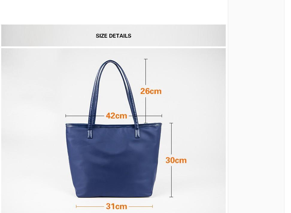 2020 нейлоновая сумка на плечо женская сумка большие сумки водонепроницаемая ткань женская повседневная сумка