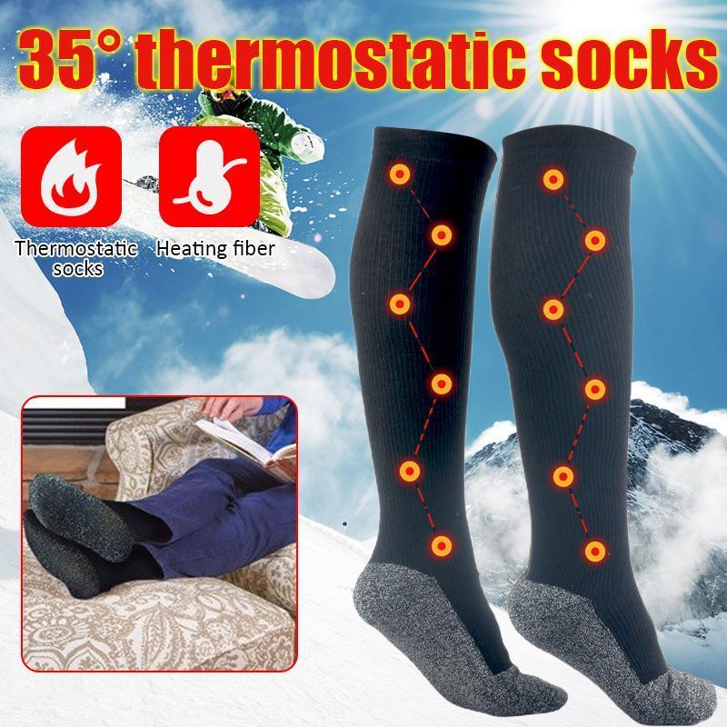Hiver hommes chaussettes épaissir la laine thermique de la laine de laine cachemire chaussettes grimpant randonnée randonnée sport bottes sans couches pour hommes