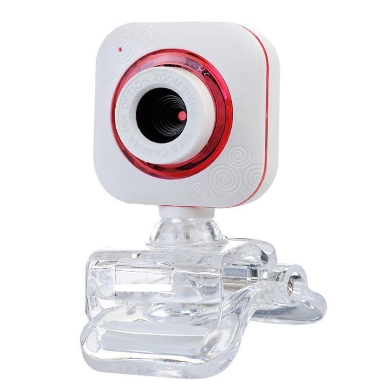 WebCam HD Бесплатный привод Микрофон широкоэкранный USB Компьютерная камера Динамическое разрешение для настольных ноутбуков Видеозвонок