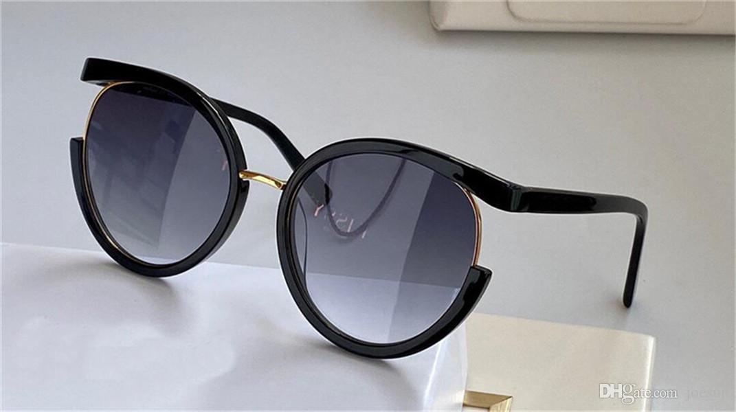 Nuovi occhiali da sole 865 donne progettano grandi occhiali appositamente progettato cornice rotonda alta popolarità stile nobile ed elegante di qualità superiore