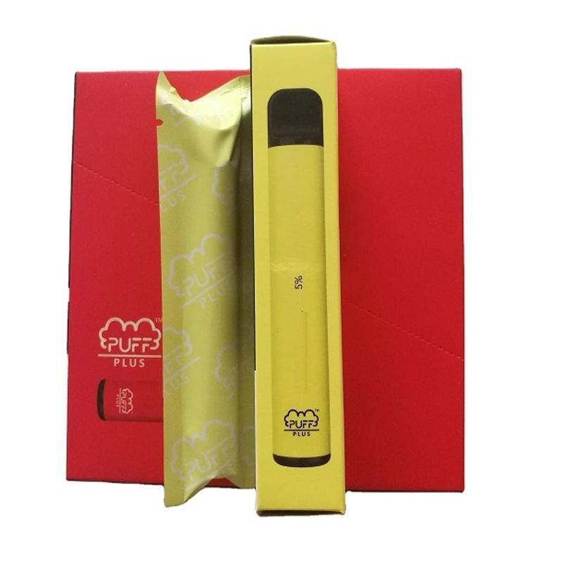 Buff Plus Descartável Vape Device Pod Starter Kit 550mAh Bateria 3.2ml Cartucho Vape Vape Alta Qualidade em estoque