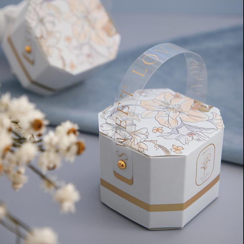 20pcs sac à main boîte cadeau Creative Kraft papier DIY Cadeau Candy Box Kawaii Parti Fournitures Décor Anniversaire de mariage