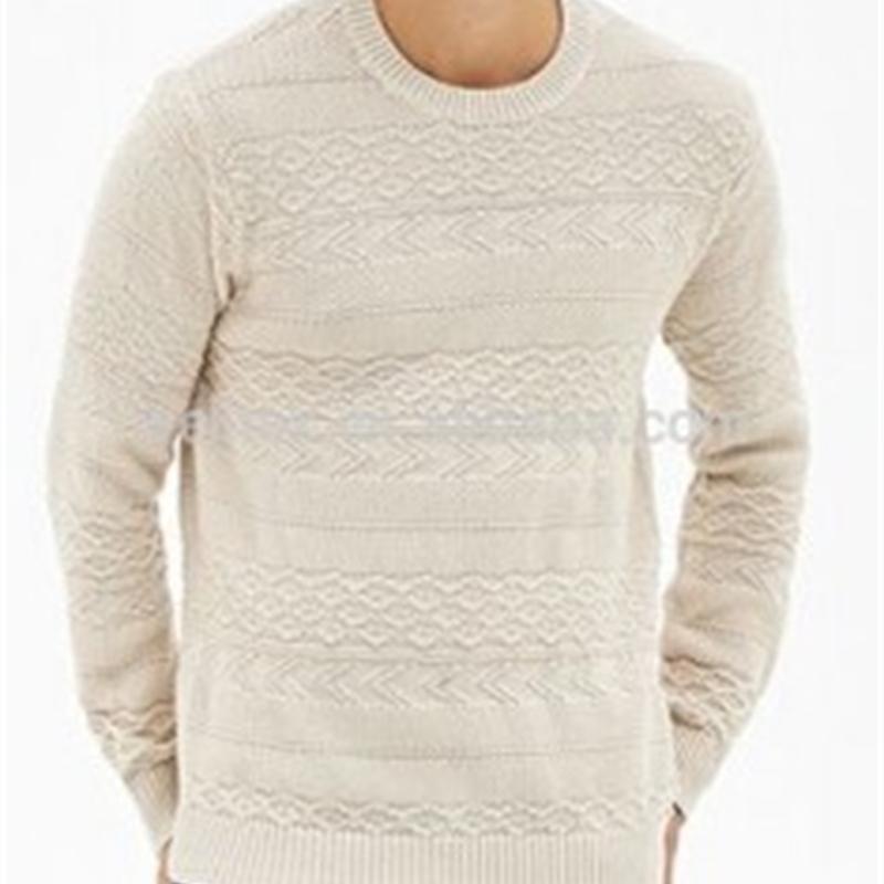 Suéter de cuello redondo para hombre