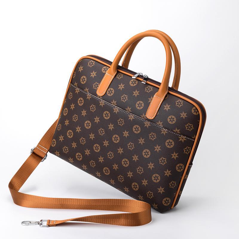 HBPApple Dell Lenovo ASUS 13.3/14/15.6 inch Laptop Bag Men and Women Shoulder Portable Briefcase Q0112