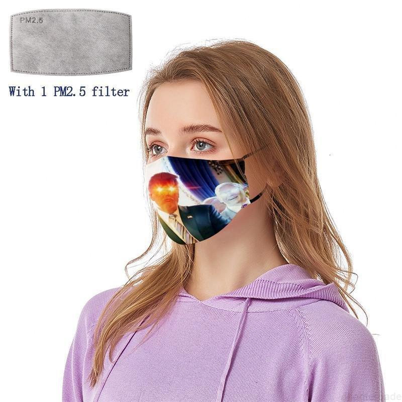 Trump PM2.5 Amerikan Erkekler Malzemeleri Evrensel ve Maske Yüzü Seçim Wlbl # Yıkanabilir Kadınlar Filtreler Ile Yeniden Kullanılabilir Yazdırma Dustp CRBCV