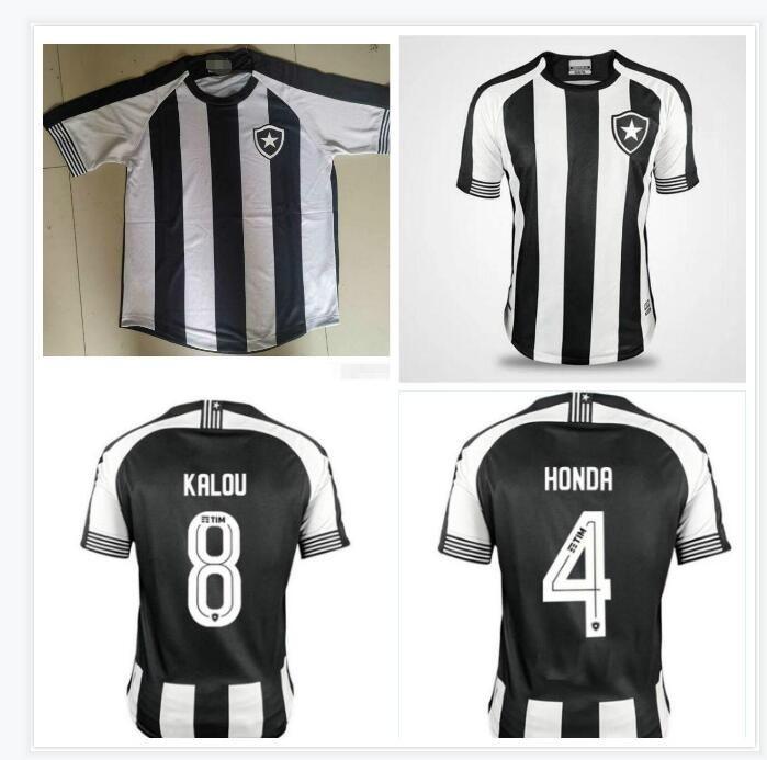 19-20-21 de Futebol E Regatas Soccer Jerseys 2020 Accueil N ° 1 Jefferson Soccer Shirt Chemise de football Uniforme