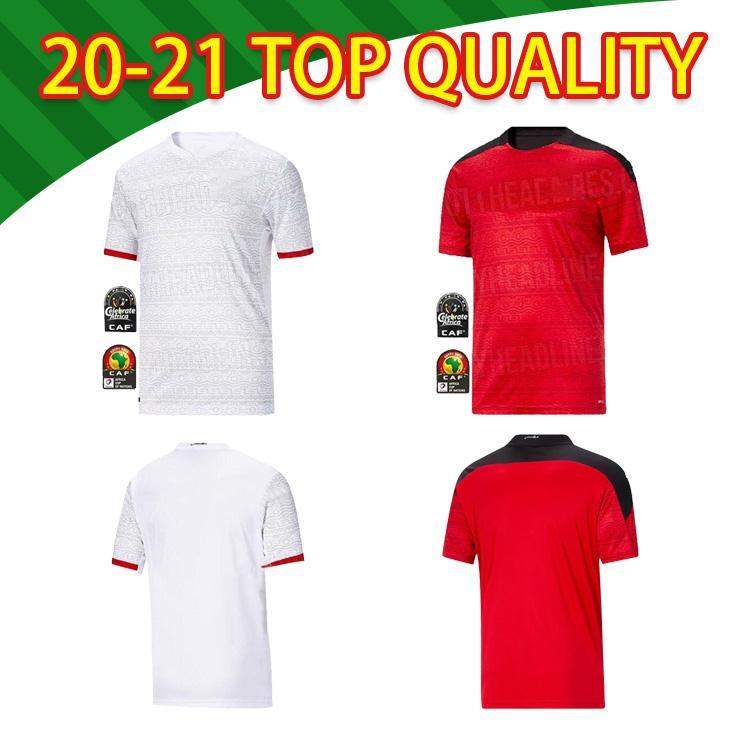 2021 Egitto M. Salah Thai Thai Maglie di calcio di alta qualità Casa Away 20 21 Kahraba A. Camicia da calcio della squadra nazionale di Hegazi Ramadan