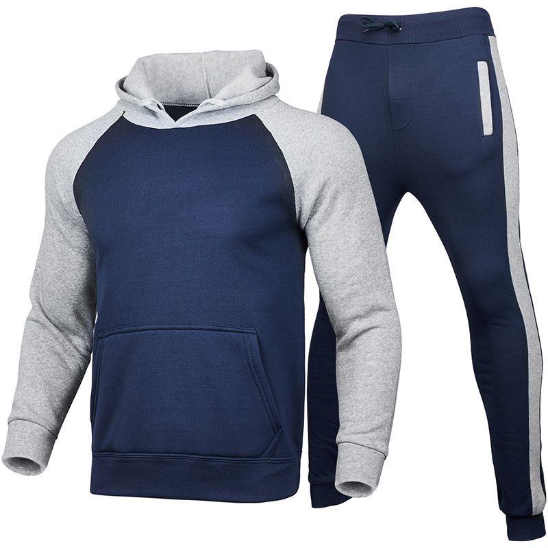 Designer da uomo Sportswear Primavera e autunno Giacca casual a maniche lunghe Casual Casual Pantaloni da jogging Abbigliamento uomo Abbigliamento da uomo Abbigliamento speciale
