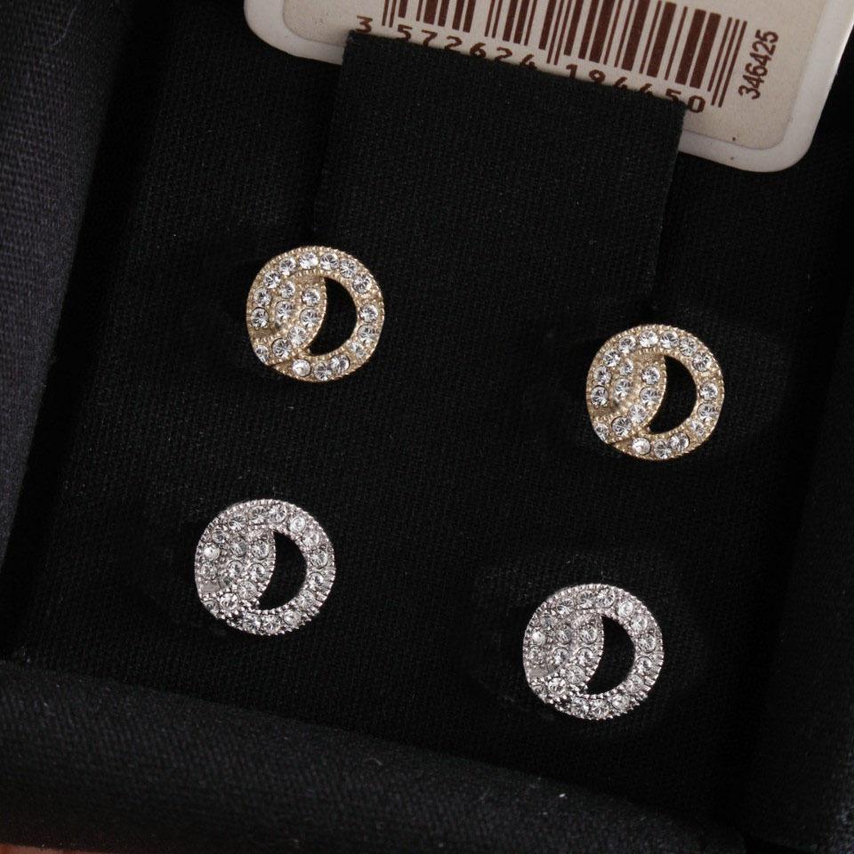 أزياء الذهب des boucles d'oreilles أقراط لسيدة المرأة حزب عشاق الزفاف هدية مجوهرات الاشتباك للعروس مع مربع.
