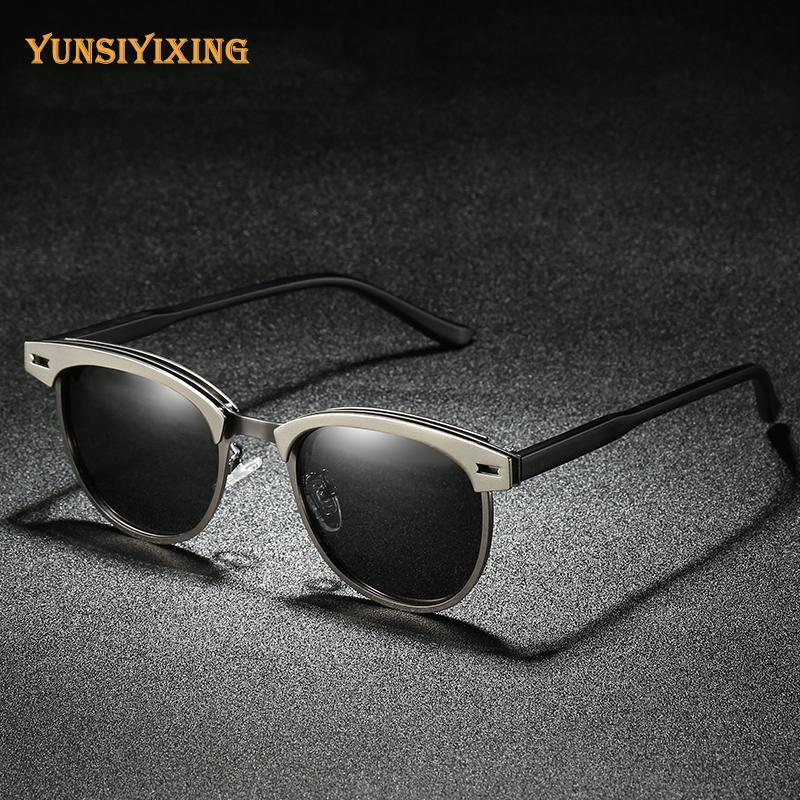 YSYX Eyewear Femmes Polarized Nouveaux hommes / Femmes 0911 Sun Driver Uv400 Mirror Lunettes de soleil Brandes pour lunettes de mode anti-éblouissement XBFNI