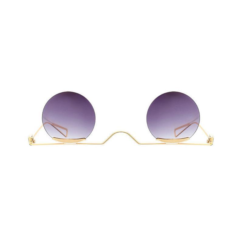 Güneş Gözlüğü Mincl Kadın Moda Yuvarlak Güneş Gözlükleri Kadın 2021 Gözlük Punk Tasarımcı Erkekler Ile Kutusu NX