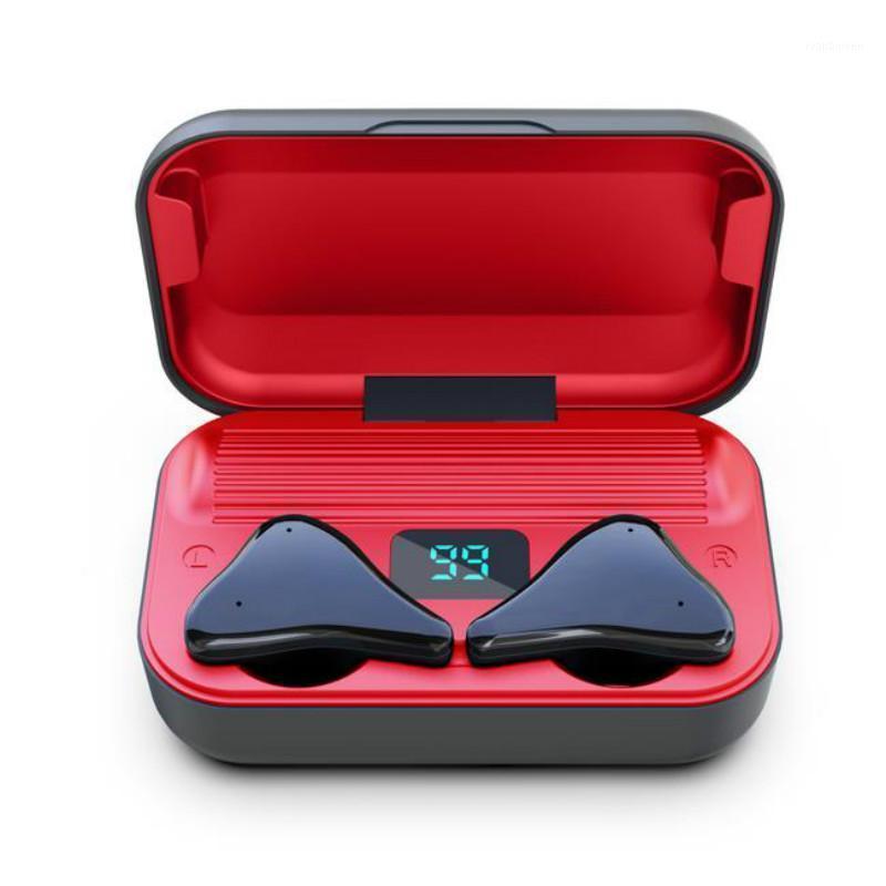 TWS A10 Беспроводные наушники Bluetooth 5.0 гарнитура спортивные микрофоны наушники с зарядной коробкой сенсорные головки набор громкой связи игр у Eargplugs1
