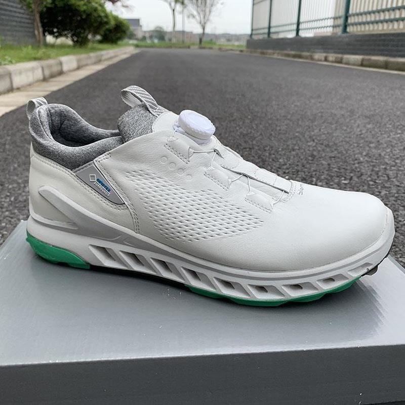 marca de cuero genuino al aire libre zapatos de golf deportivas para hombres instructores 2020