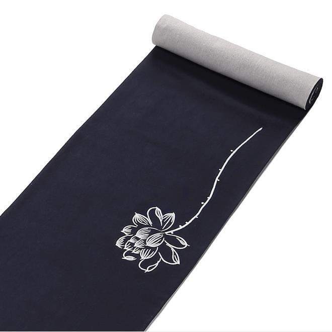 Dry tea matcottonlinen linentea mattea curtain Chinese Zen retro Kung Fu tea set accessories table runner